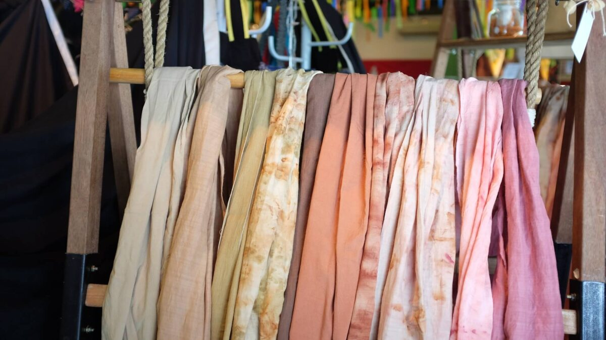 image of polycotton fabric in different colours